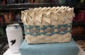 Snack Basket by Dani Sue Creations with can